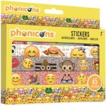 Emoji 65 darabos matrica szett