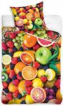 Gyümölcsök ágyneműhuzat 160×200cm, 70×80 cm