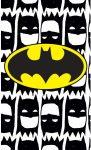 Kéztörlő arctörlő, törölköző Batman 30*50cm
