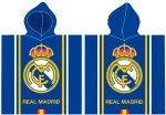 Real Madrid törölköző poncsó 55*110cm