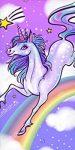 Unicorn, Unikornis fürdőlepedő, strand törölköző 70*140cm