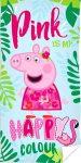 Peppa Pig fürdőlepedő, strand törölköző 70*140cm