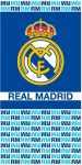 Real Madrid fürdőlepedő, strand törölköző 70*140cm