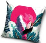 Flamingo, Flamingó párnahuzat 40*40 cm