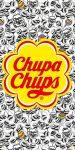 Chupa Chups fürdőlepedő, strand törölköző 70*140cm