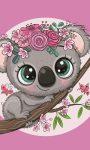 Koala Kéztörlő arctörlő, törölköző 30*50cm