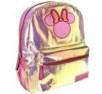 Disney Minnie divattáska, táska fényes, csillámos 36 cm