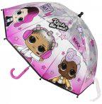 LOL Surprise Gyerek átlátszó esernyő Ø66 cm