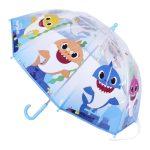 Baby Shark Gyerek átlátszó esernyő Ø66 cm