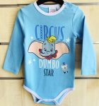 Disney Dumbo Baba body, kombidressz 1-23 hó