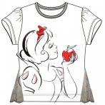 Disney Hercegnők gyerek rövid póló, felső 3-8 év