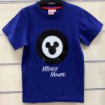 Disney Mickey flitteres gyerek rövid póló, felső 2-7 év