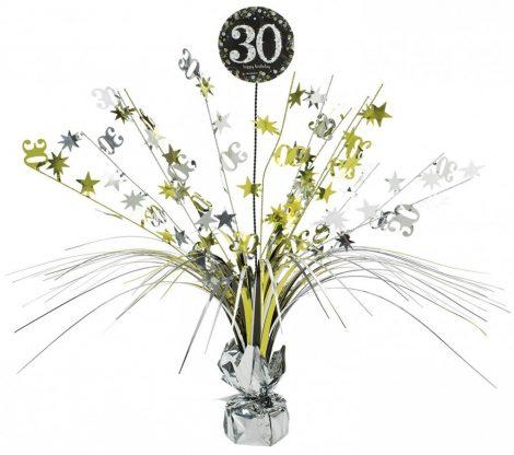 Happy Birthday asztaldísz 30