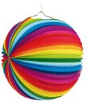 Lampion Rainbow 25 cm