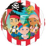 Disney Jake and the Never Land Pirates Fólia lufi 43 cm