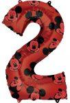 Disney Mickey Fólia lufi 2-es 66 cm