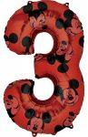 Disney Mickey Fólia lufi 3-as 66 cm