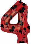 Disney Mickey Fólia lufi 4-es 66 cm