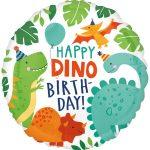 Dinosaur, Dinoszaurusz Fólia lufi 43 cm
