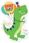 Dinoszaurusz Party Meghívó 8 db-os