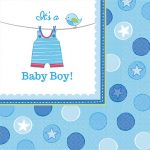 Baby Boy szalvéta 16 db-os 33*33 cm