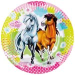 Lovas, The Horses Papírtányér 8 db-os 23 cm