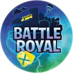 Battle Royal Papírtányér 8 db-os 22,8 cm