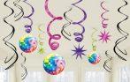 Disco Fever dekoráció 12 db-os szett