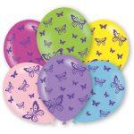 Butterflies, Pillangó léggömb, lufi 6 db-os