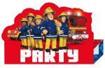 Fireman Sam, Sam a tűzoltó Party Meghívó 8 db-os