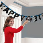 Star Wars Happy Birthday felirat 140 cm