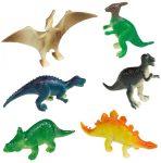 Dinoszaurusz műanyag figurák 8-as szett