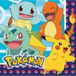 Pokémon szalvéta 16 db-os, 33*33 cm