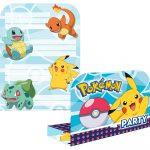 Pokémon Party Meghívó 8 db-os