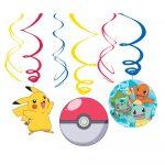 Pokémon Szalag dekoráció 6 db-os szett