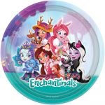 Enchantimals Papírtányér 8 db-os 23 cm