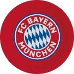 FC Bayern München Papírtányér 8 db-os 23 cm