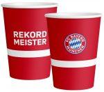 FC Bayern München Papír pohár 8 db-os 250 ml