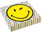 Emoji szalvéta 16 db-os 33*33 cm