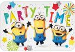 Minyonok Balloons Party Meghívó 8 db-os