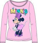 Disney Minnie gyerek hosszú póló, felső 104-134 cm