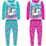 Peppa malac gyerek hosszú pizsama 92-116 cm