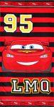 Disney Cars, Verdák fürdőlepedő, strand törölköző 70*140cm (Fast Dry)