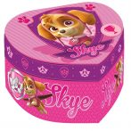 Ékszertartó doboz szív alakú Mancs Őrjárat