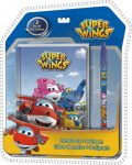 Super Wings Napló + toll