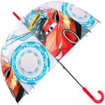 Gyerek átlátszó esernyő Disney Cars, Verdák Ø70 cm