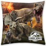 Jurassic World párna, díszpárna 40*40 cm