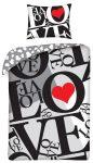 Love , Szerelem ágyneműhuzat 140×200cm, 70×90 cm