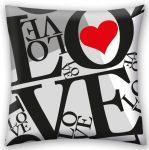 Love , Szerelem párna, díszpárna 40*40 cm