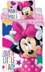 Gyerek ágyneműhuzat Disney Minnie 100×135cm, 40×60 cm